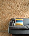 Log Wall Tiles - NATURAL STYLE